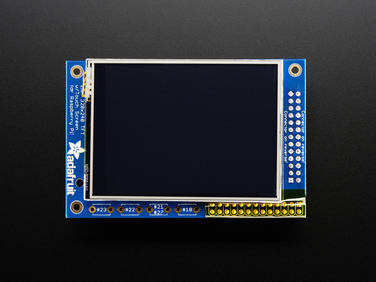 РiTFT - 2.8'' TFT+Touchscreen за Raspberry Pi B+