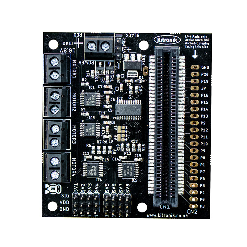 All-in-one Robotics Board for BBC micro:bit